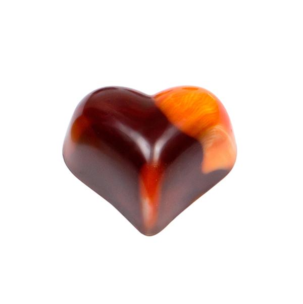 Orange Heart 600x600