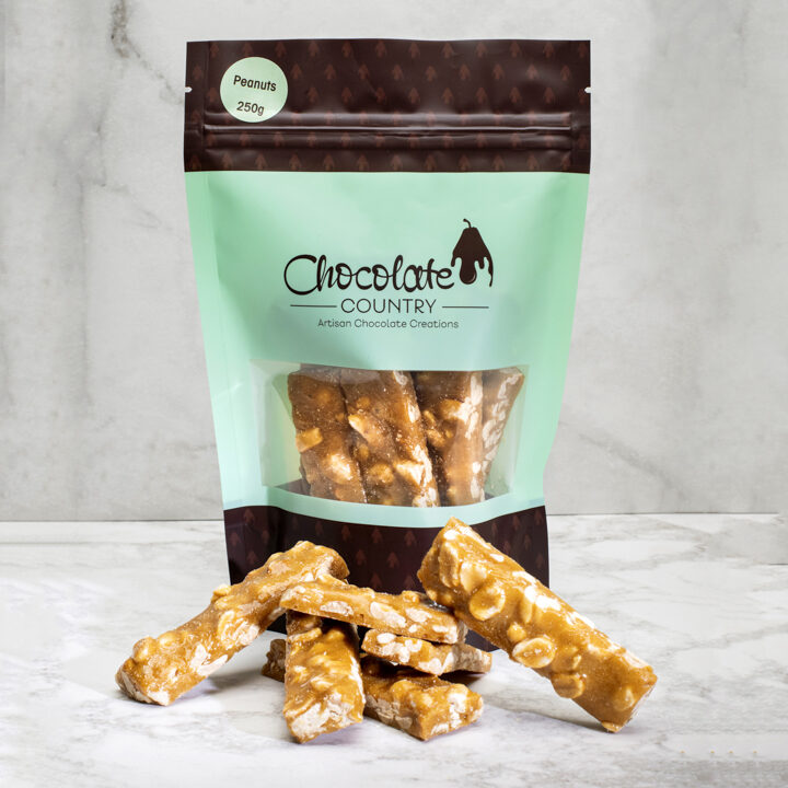 Chocolate Country Peanut Brittle