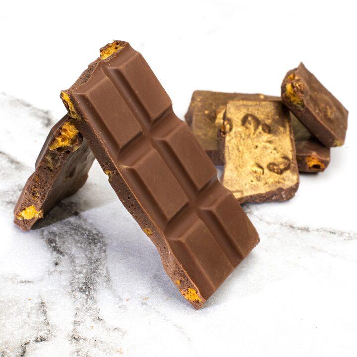 Chocolate Country 100g Chocolate Bar Honeycomb Milk