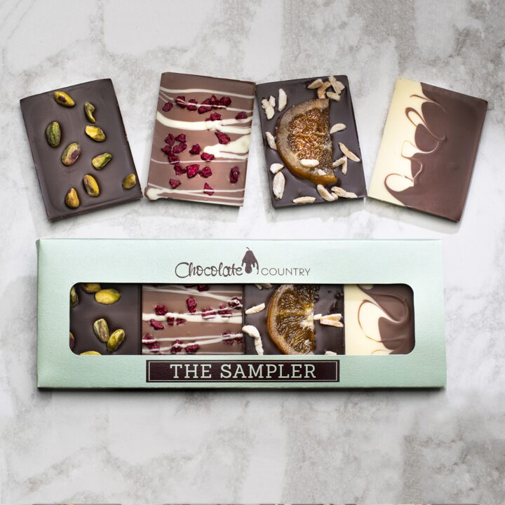 Chocolate Country The sampler Box