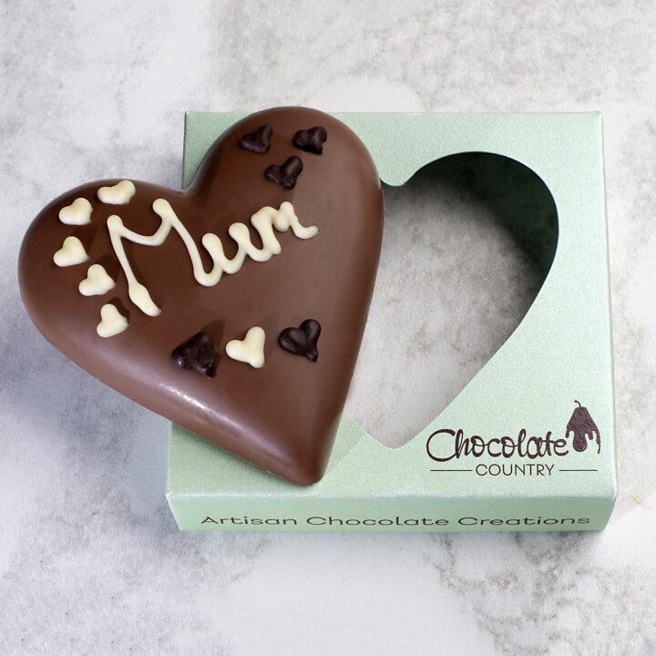 Chocolate Country 1 Carton - 6 x Milk Hearts
