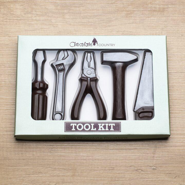 Chocolate Country 1 Carton - 6 x Tool Box Dark