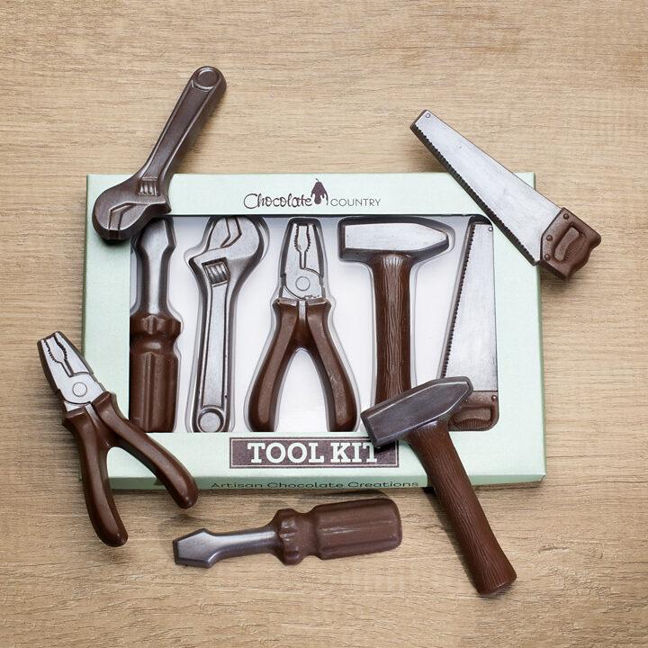 Chocolate Country Tool Box