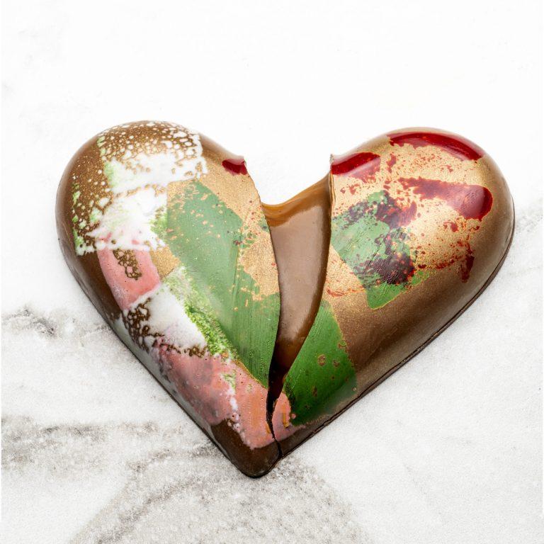 Chocolate Country Caramel Milk Chocolate Heart