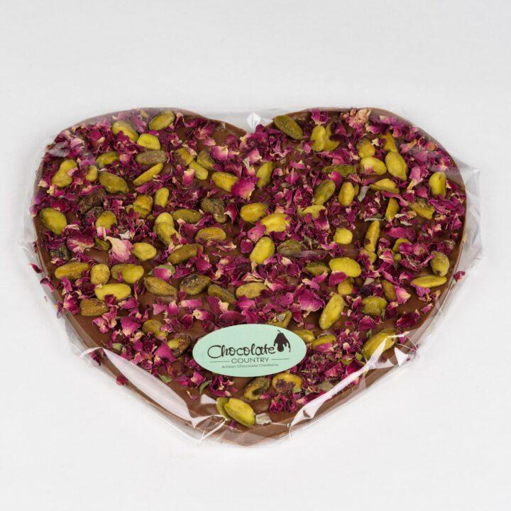 Chocolate Country Large 250 g Milk Belgian choclate Heart