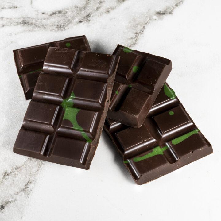 Chocolate Country 100 g Dark Mint Bar