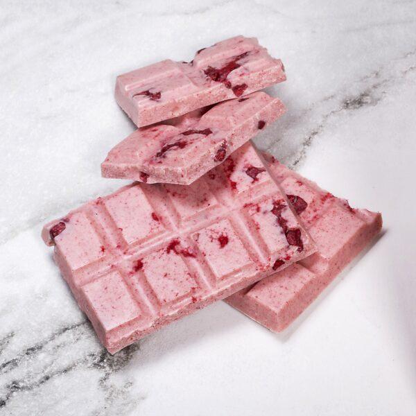 Chocolate Country 100 g Freeze Dried Raspberry Bar