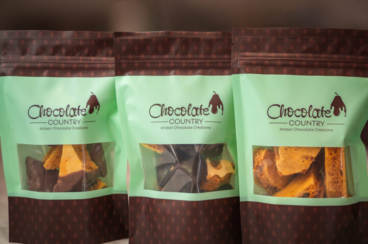 Chocolate Country Selection of Three Bags of Honeycomb