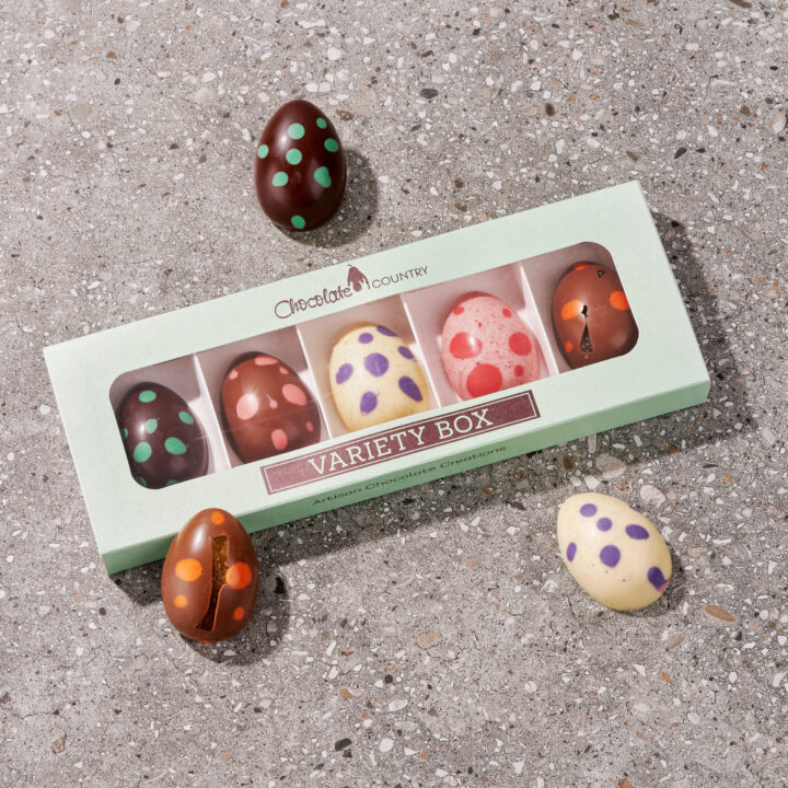 Chocolate Country Fruit Easter Egg Variety Box